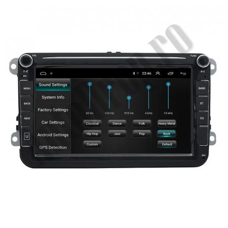 Navigatie Volkswagen, Skoda, Seat, QUADCORE|MTK| / 1GB RAM + 16GB ROM, 8 Inch - AD-BGPVW8MTK8