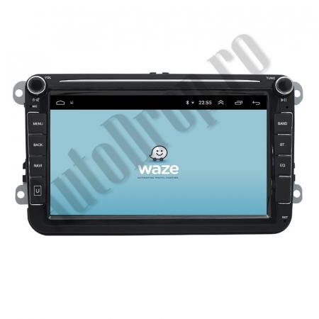 Navigatie Volkswagen, Skoda, Seat, QUADCORE|MTK| / 1GB RAM + 16GB ROM, 8 Inch - AD-BGPVW8MTK14
