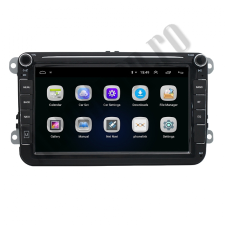 Navigatie Volkswagen, Skoda, Seat, QUADCORE|MTK| / 2GB RAM + 32GB ROM, 8 Inch - AD-BGPVW8MTK2GB3