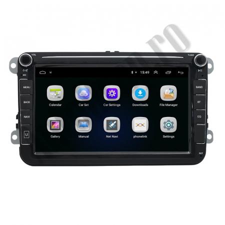 Navigatie Volkswagen, Skoda, Seat, QUADCORE|MTK| / 1GB RAM + 16GB ROM, 8 Inch - AD-BGPVW8MTK3