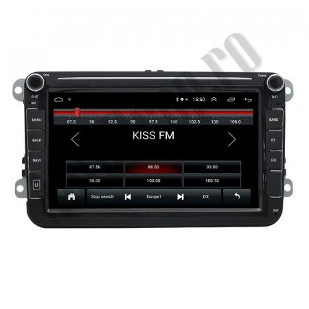 Navigatie Volkswagen, Skoda, Seat, QUADCORE|MTK| / 1GB RAM + 16GB ROM, 8 Inch - AD-BGPVW8MTK1