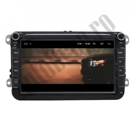 Navigatie Volkswagen, Skoda, Seat, QUADCORE|MTK| / 1GB RAM + 16GB ROM, 8 Inch - AD-BGPVW8MTK15