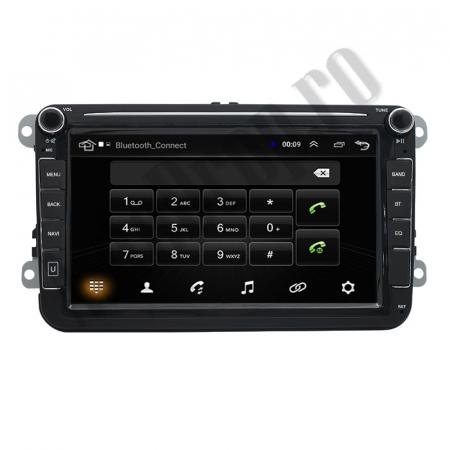 Navigatie Volkswagen, Skoda, Seat, QUADCORE|MTK| / 1GB RAM + 16GB ROM, 8 Inch - AD-BGPVW8MTK7
