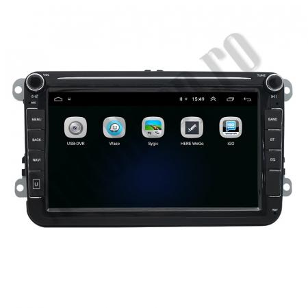 Navigatie Volkswagen, Skoda, Seat, QUADCORE|MTK| / 2GB RAM + 32GB ROM, 8 Inch - AD-BGPVW8MTK2GB4