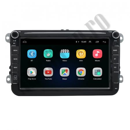 Navigatie Volkswagen, Skoda, Seat, QUADCORE|MTK| / 1GB RAM + 16GB ROM, 8 Inch - AD-BGPVW8MTK2