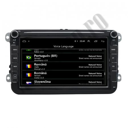 Navigatie Volkswagen, Skoda, Seat, QUADCORE|MTK| / 1GB RAM + 16GB ROM, 8 Inch - AD-BGPVW8MTK6