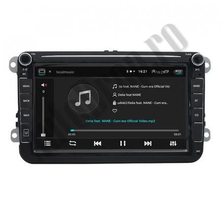 Navigatie Volkswagen, Skoda, Seat, QUADCORE|MTK| / 1GB RAM + 16GB ROM, 8 Inch - AD-BGPVW8MTK5
