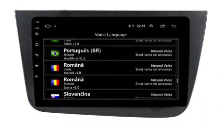 Navigatie Seat Altea/Toledo (2005-2012), QUADCORE|MTK| / 1GB RAM + 16GB ROM, 9 Inch - AD-BGPALTEA9MTK13