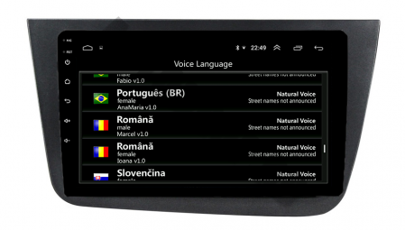 Navigatie Seat Altea/Toledo (2005-2012), QUADCORE|MTK| / 2GB RAM + 32GB ROM, 9 Inch - AD-BGPALTEA9MTK2GB13