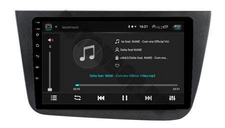 Navigatie Seat Altea/Toledo (2005-2012), QUADCORE|MTK| / 1GB RAM + 16GB ROM, 9 Inch - AD-BGPALTEA9MTK2
