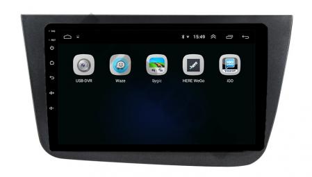 Navigatie Seat Altea/Toledo (2005-2012), QUADCORE|MTK| / 1GB RAM + 16GB ROM, 9 Inch - AD-BGPALTEA9MTK6