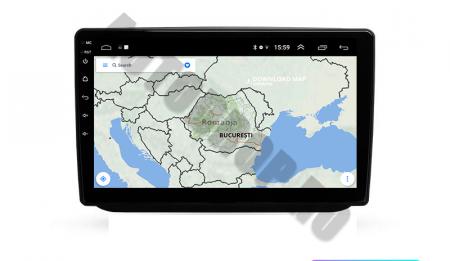 Navigatie Skoda Fabia (2007-2014), QUADCORE|MTK| / 1GB RAM + 16GB ROM, 10.1 Inch - AD-BGPFABIA10MTK15