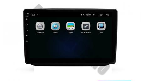 Navigatie Skoda Fabia (2007-2014), QUADCORE|MTK| / 1GB RAM + 16GB ROM, 10.1 Inch - AD-BGPFABIA10MTK3