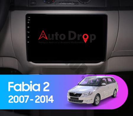 Navigatie Skoda Fabia (2007-2014), QUADCORE|MTK| / 1GB RAM + 16GB ROM, 10.1 Inch - AD-BGPFABIA10MTK17