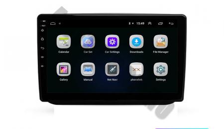 Navigatie Skoda Fabia (2007-2014), QUADCORE|MTK| / 1GB RAM + 16GB ROM, 10.1 Inch - AD-BGPFABIA10MTK2