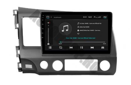 Navigatie Honda Civic (2005-2012), QUADCORE|MTK| / 2GB RAM + 32GB ROM, 9Inch - AD-BGPCIVIC9MTK2GB9