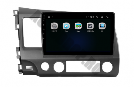 Navigatie Honda Civic (2005-2012), QUADCORE|MTK| / 2GB RAM + 32GB ROM, 9Inch - AD-BGPCIVIC9MTK2GB4