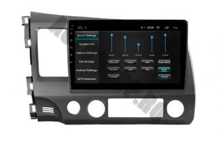 Navigatie Honda Civic (2005-2012), QUADCORE|MTK| / 2GB RAM + 32GB ROM, 9Inch - AD-BGPCIVIC9MTK2GB5