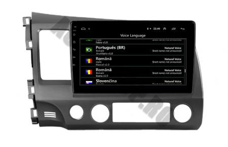 Navigatie Honda Civic (2005-2012), QUADCORE|MTK| / 2GB RAM + 32GB ROM, 9Inch - AD-BGPCIVIC9MTK2GB8