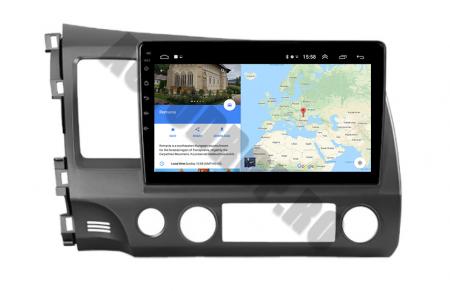 Navigatie Honda Civic (2005-2012), QUADCORE|MTK| / 2GB RAM + 32GB ROM, 9Inch - AD-BGPCIVIC9MTK2GB16