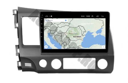 Navigatie Honda Civic (2005-2012), QUADCORE|MTK| / 2GB RAM + 32GB ROM, 9Inch - AD-BGPCIVIC9MTK2GB17