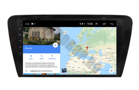Navigatie Android 10 Skoda Octavia 3 PX6   AutoDrop.ro [14]