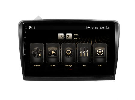 Navigatie Android 10 Skoda Superb 2 PX6 | AutoDrop.ro [1]