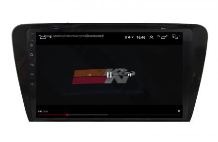 NAVIGATIE SKODA OCTAVIA 3 (2013-2018), ANDROID 9.1, QUADCORE MTK  / 1GB RAM + 16GB ROM, 10.1 INCH - AD-BGPOCTAVIA39MTK9