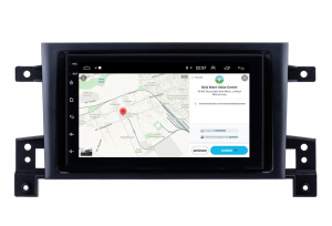 Navigatie Suzuki Grand Vitara 2004-2014, Android 9.1, QUADCORE|MTK| / 1GB RAM + 16 ROM, 7 Inch - AD-BGPSUZUKIGV2DIN12