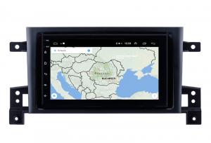 Navigatie Suzuki Grand Vitara 2004-2014, Android 9.1, QUADCORE|MTK| / 1GB RAM + 16 ROM, 7 Inch - AD-BGPSUZUKIGV2DIN10