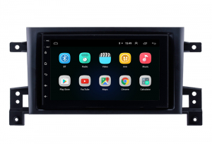 Navigatie Suzuki Grand Vitara 2004-2014, Android 8.1, QUADCORE|MTK| / 1GB RAM + 16 ROM, 7 Inch - AD-BGPSUZUKIGV2DIN1GB1