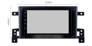 Navigatie Suzuki Grand Vitara 2004-2014, Android 8.1, QUADCORE|MTK| / 1GB RAM + 16 ROM, 7 Inch - AD-BGPSUZUKIGV2DIN1GB17