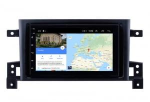 Navigatie Suzuki Grand Vitara 2004-2014, Android 9.1, QUADCORE|MTK| / 1GB RAM + 16 ROM, 7 Inch - AD-BGPSUZUKIGV2DIN11