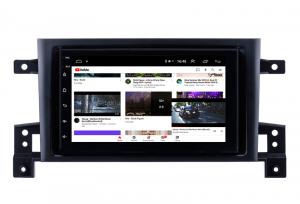 Navigatie Suzuki Grand Vitara 2004-2014, Android 9.1, QUADCORE|MTK| / 1GB RAM + 16 ROM, 7 Inch - AD-BGPSUZUKIGV2DIN8