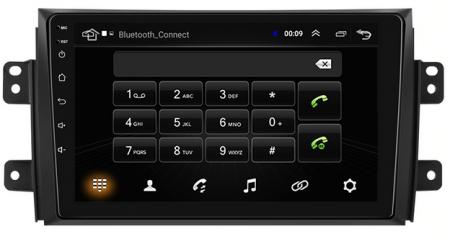 Navigatie Suzuki SX4 / Fiat Sedici, Android 9.1, QUADCORE|MTK| / 2GB RAM + 32 ROM, 9 Inch - AD-BGPSX49MTK2GB8