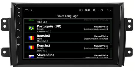 Navigatie Suzuki SX4 / Fiat Sedici, Android 9.1, QUADCORE|MTK| / 2GB RAM + 32 ROM, 9 Inch - AD-BGPSX49MTK2GB7