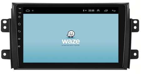 Navigatie Suzuki SX4 / Fiat Sedici, Android 9.1, QUADCORE|MTK| / 2GB RAM + 32 ROM, 9 Inch - AD-BGPSX49MTK2GB11