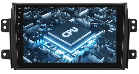 Navigatie Suzuki SX4 / Fiat Sedici, Android 9.1, QUADCORE|MTK| / 2GB RAM + 32 ROM, 9 Inch - AD-BGPSX49MTK2GB16