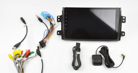 Navigatie Suzuki SX4 / Fiat Sedici, Android 9.1, QUADCORE|MTK| / 2GB RAM + 32 ROM, 9 Inch - AD-BGPSX49MTK2GB15