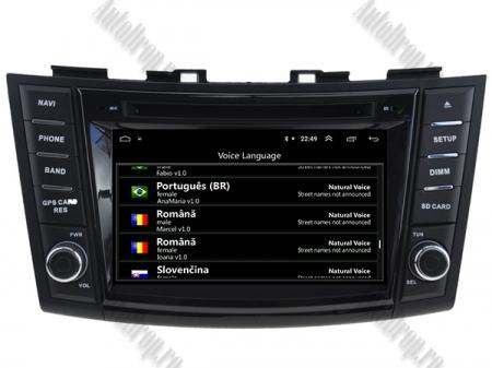 NAVIGATIE Suzuki Swift 2011+, ANDROID 9, Quadcore|PX30|/ 2GB RAM + 16GB ROM cu DVD, 7 Inch - AD-BGWSW1115P310