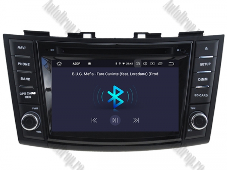 NAVIGATIE Suzuki Swift 2011+, ANDROID 9, Quadcore|PX30|/ 2GB RAM + 16GB ROM cu DVD, 7 Inch - AD-BGWSW1115P35