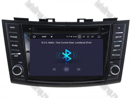 NAVIGATIE Suzuki Swift 2011+, ANDROID 9, Octacore|PX5|/ 4GB RAM + 64GB ROM cu DVD, 7 Inch - AD-BGWSW1115P55