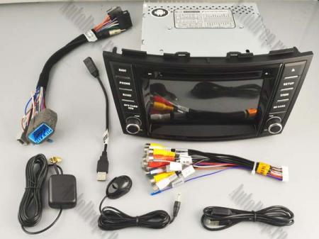 NAVIGATIE Suzuki Swift 2011+, ANDROID 9, Octacore|PX5|/ 4GB RAM + 64GB ROM cu DVD, 7 Inch - AD-BGWSW1115P516