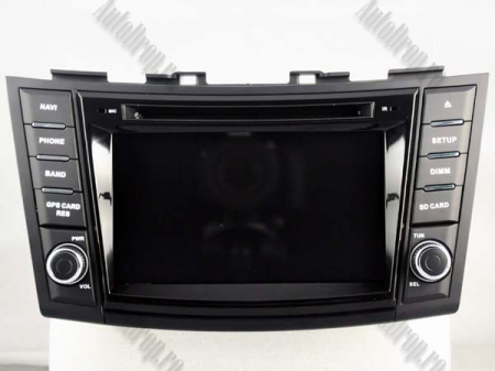 NAVIGATIE Suzuki Swift 2011+, ANDROID 9, Octacore|PX5|/ 4GB RAM + 64GB ROM cu DVD, 7 Inch - AD-BGWSW1115P517