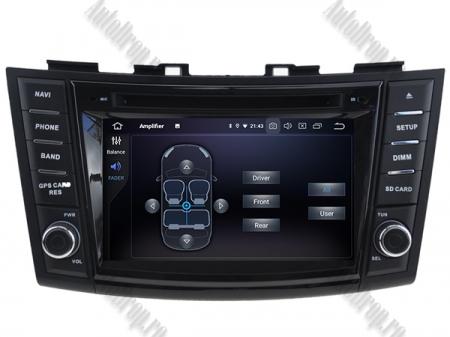 NAVIGATIE Suzuki Swift 2011+, ANDROID 9, Quadcore|PX30|/ 2GB RAM + 16GB ROM cu DVD, 7 Inch - AD-BGWSW1115P37