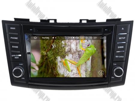NAVIGATIE Suzuki Swift 2011+, ANDROID 9, Quadcore|PX30|/ 2GB RAM + 16GB ROM cu DVD, 7 Inch - AD-BGWSW1115P311