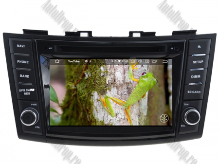NAVIGATIE Suzuki Swift 2011+, ANDROID 9, Octacore|PX5|/ 4GB RAM + 64GB ROM cu DVD, 7 Inch - AD-BGWSW1115P511