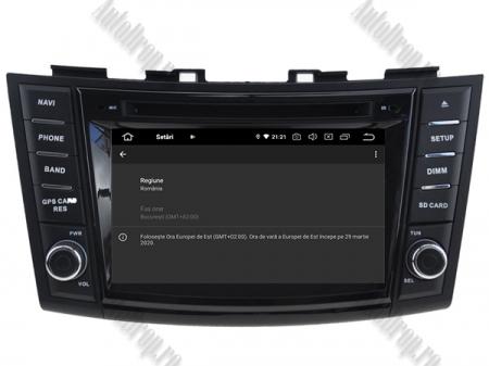 NAVIGATIE Suzuki Swift 2011+, ANDROID 9, Quadcore|PX30|/ 2GB RAM + 16GB ROM cu DVD, 7 Inch - AD-BGWSW1115P315