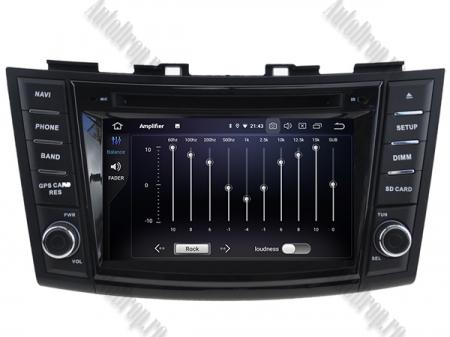 NAVIGATIE Suzuki Swift 2011+, ANDROID 9, Quadcore|PX30|/ 2GB RAM + 16GB ROM cu DVD, 7 Inch - AD-BGWSW1115P36
