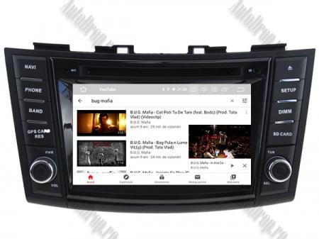 NAVIGATIE Suzuki Swift 2011+, ANDROID 9, Octacore|PX5|/ 4GB RAM + 64GB ROM cu DVD, 7 Inch - AD-BGWSW1115P59